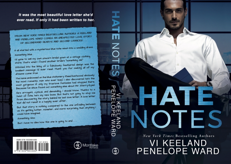 Hate Notes paperback cover