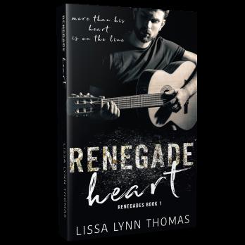 Paperback 3D Renegade Heart
